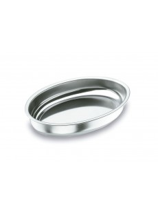 Bandeja funda oval Inox 18% Cr. 40 X 26 CM