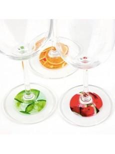 Identificadores de copos Frutas