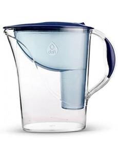 Jarro para filtrar água ATRIA c/ 2 filtros azul