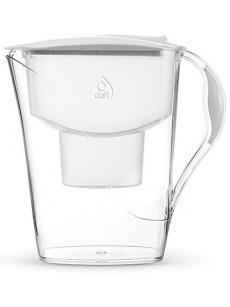 Jarro para filtrar água LUNA c/ 2 filtros branco
