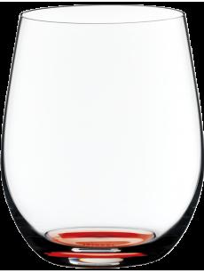 RIEDEL 'O' Viognier/Chardonnay Cinnabar Red | CAIXA 12 UNIDADES