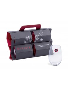 Copo RIEDEL 'O' Syrah Buy 4 Pay 3  (Crystal Lead Free) PACK4  5414/34