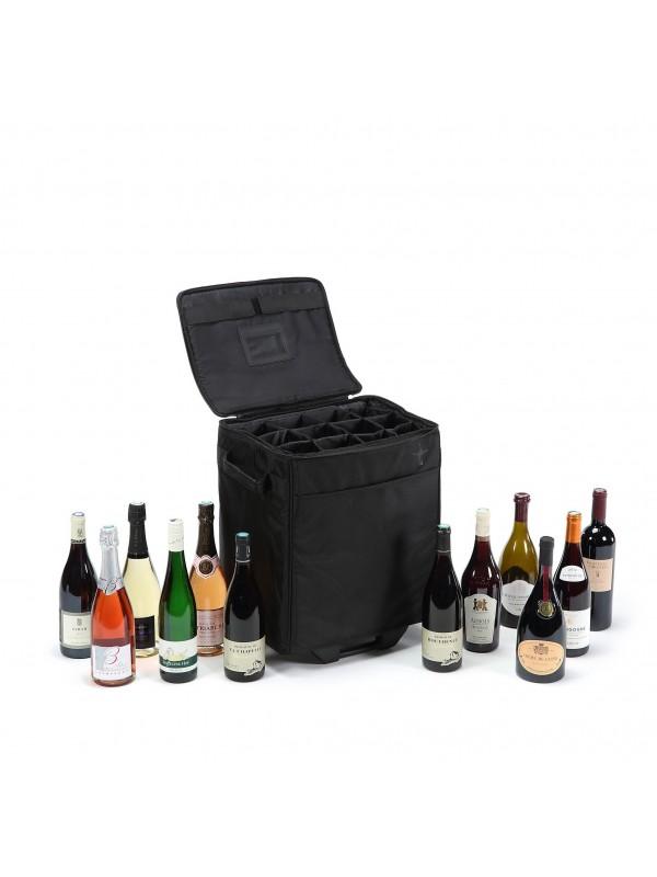 Mala para transporte de vinho 12 Garrafas (6 Porão)