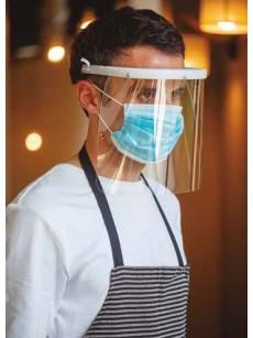 Máscaras antibacterianas de proteção facial de polietileno