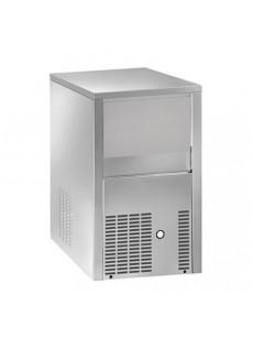 Máquina para fabricar gelo em cubos 25kg/24h com depósito de 6 kg, arrefecimento a água  MP 25/6 W
