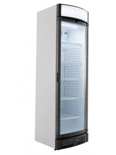Armário frigorífico expositor com vidro curvo e display +2 / +8 º C
