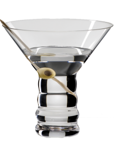 Copo RIEDEL 'O' Martini (Crystal Lead Free) PACK2