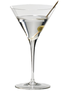 Copo RIEDEL Sommeliers Martini (Lead Crystal)