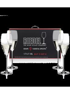 RIEDEL Vinum XL Pay 3 Get 4 Vintage Champagne