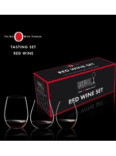Copo RIEDEL Big 'O' Red Wine Set (Crystal Lead Free) PACK3