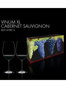 Copo RIEDEL VINUM XL BUY 3 GET 4 CABERNET SAUVIGNON (Lead Crystal) PACK4