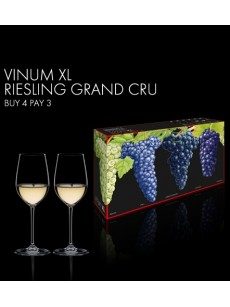 Copo RIEDEL VINUM XL BUY 3 GET 4 RIESLING GRAND CRU (Lead Crystal) PACK4