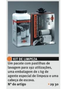 Spuelboy Kit Total (Cabeça Escova, 48 Pastilhas duplas - 750 gr, Pó Higienizante - 1kg