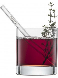 Schott Zwiesel Set of 4 glass straws short   Caixa 4 unidades