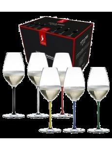 RIEDEL Fatto a Mano Set 6 Champagne
