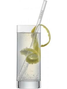 Schott Zwiesel Set of 4 glass strawse long    Caixa 4 unidades